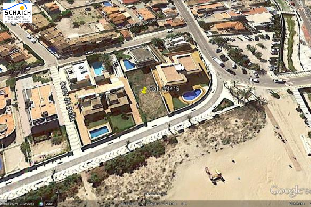 residential ground in Oliva for sale, plot area 488 m², ref.: 2-4416-3