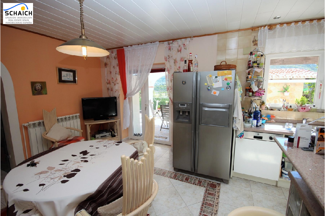 villa in Pego for sale, built area 130 m², year built 1983, condition modernized, + central heating air-condition yes, plot area 620 m², 3 bedroom, 2 bathroom, swimming-pool yes, ref.: MJ-0917-20