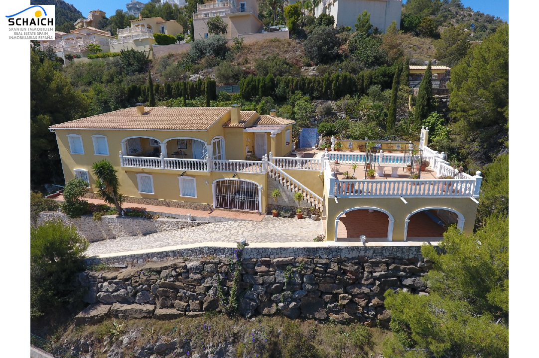 villa in La Sella(La Sella) for sale, built area 160 m², year built 1997, condition neat, + central heating plot area 1100 m², 4 bedroom, 3 bathroom, swimming-pool yes, ref.: AS-1217-28