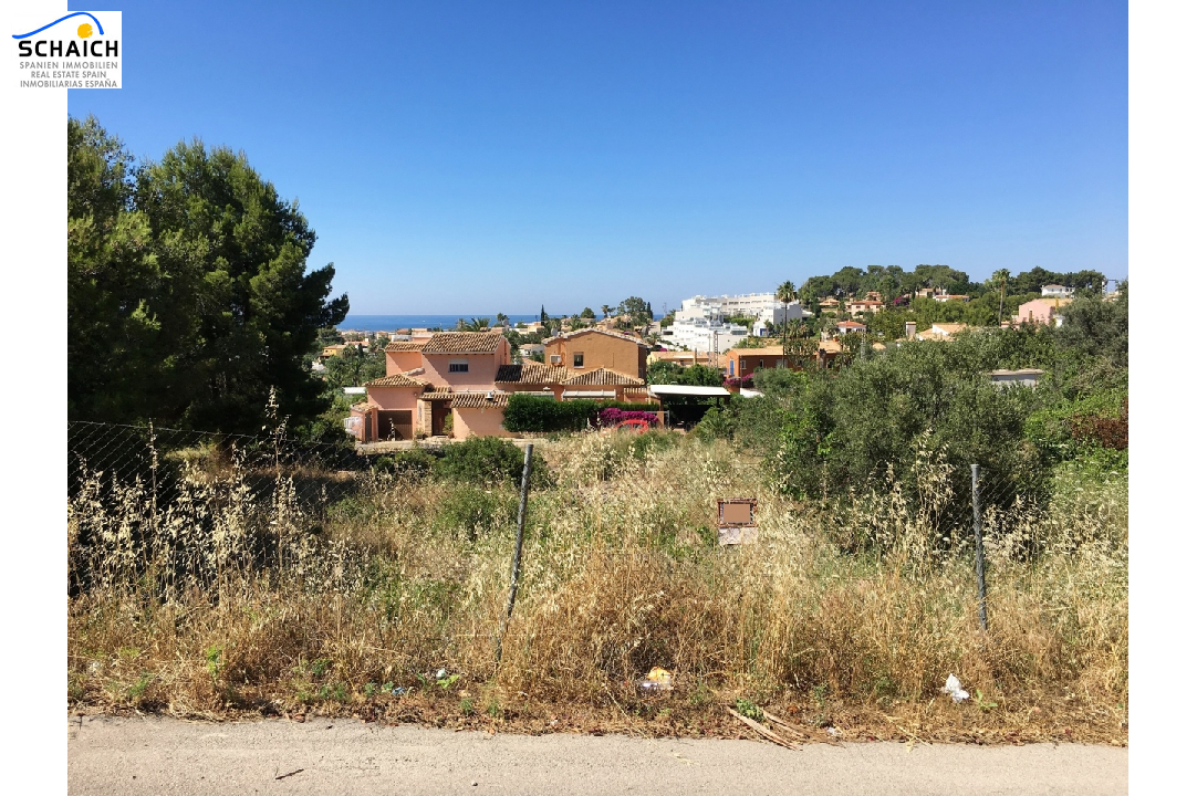 residential ground in Denia for sale, plot area 2748 m², ref.: GC-1317-1