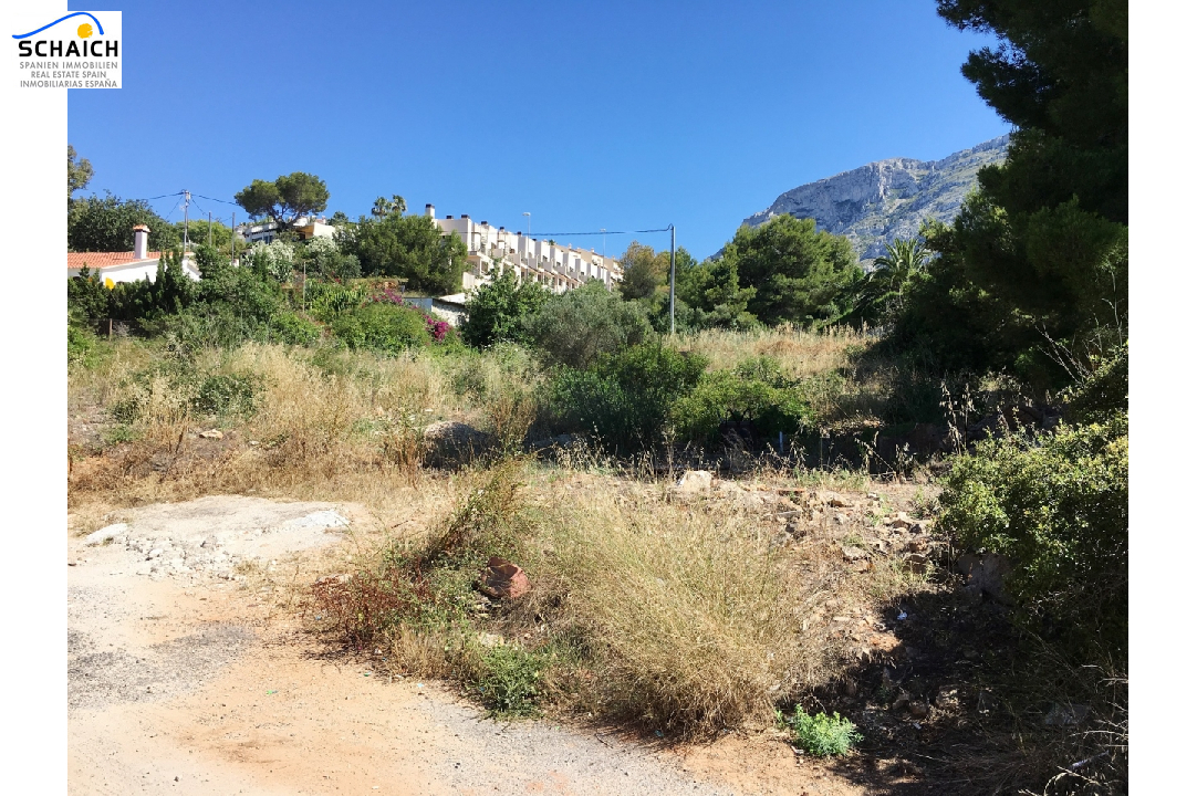residential ground in Denia for sale, plot area 2748 m², ref.: GC-1317-3