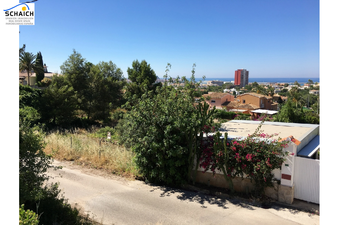 residential ground in Denia for sale, plot area 2748 m², ref.: GC-1317-4