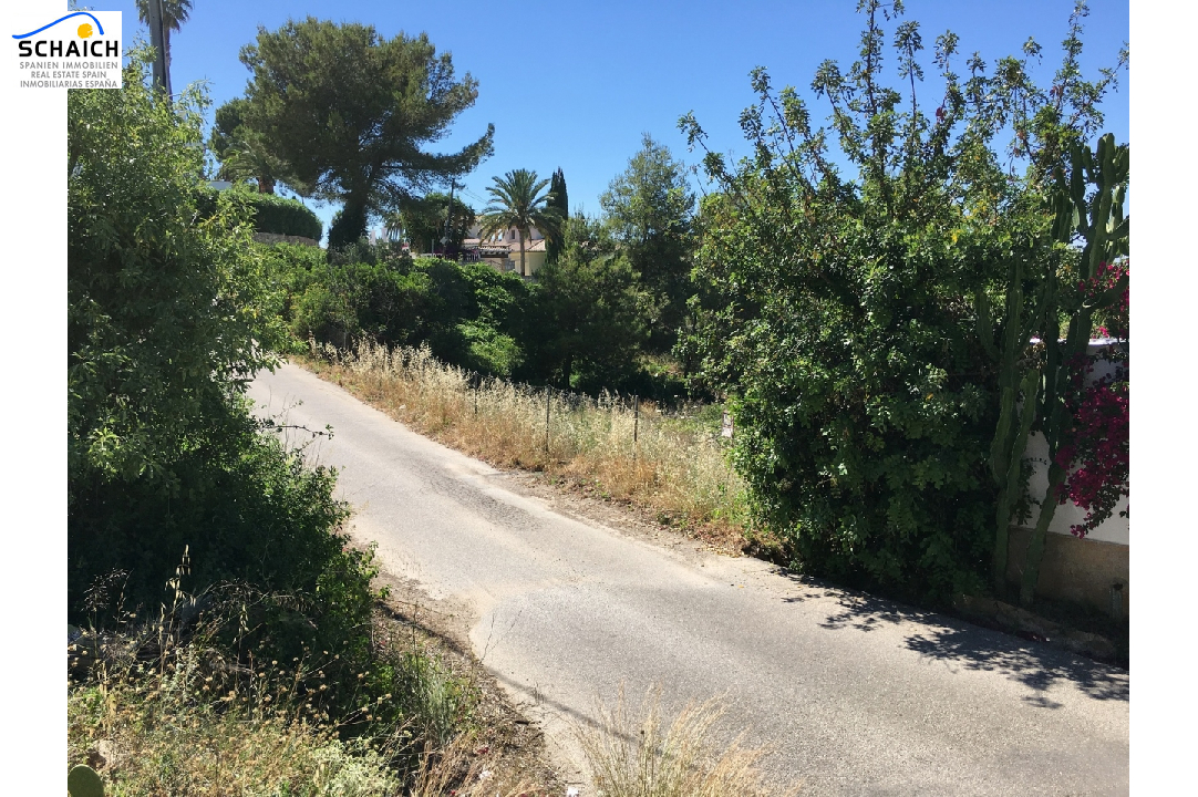 residential ground in Denia for sale, plot area 2748 m², ref.: GC-1317-5