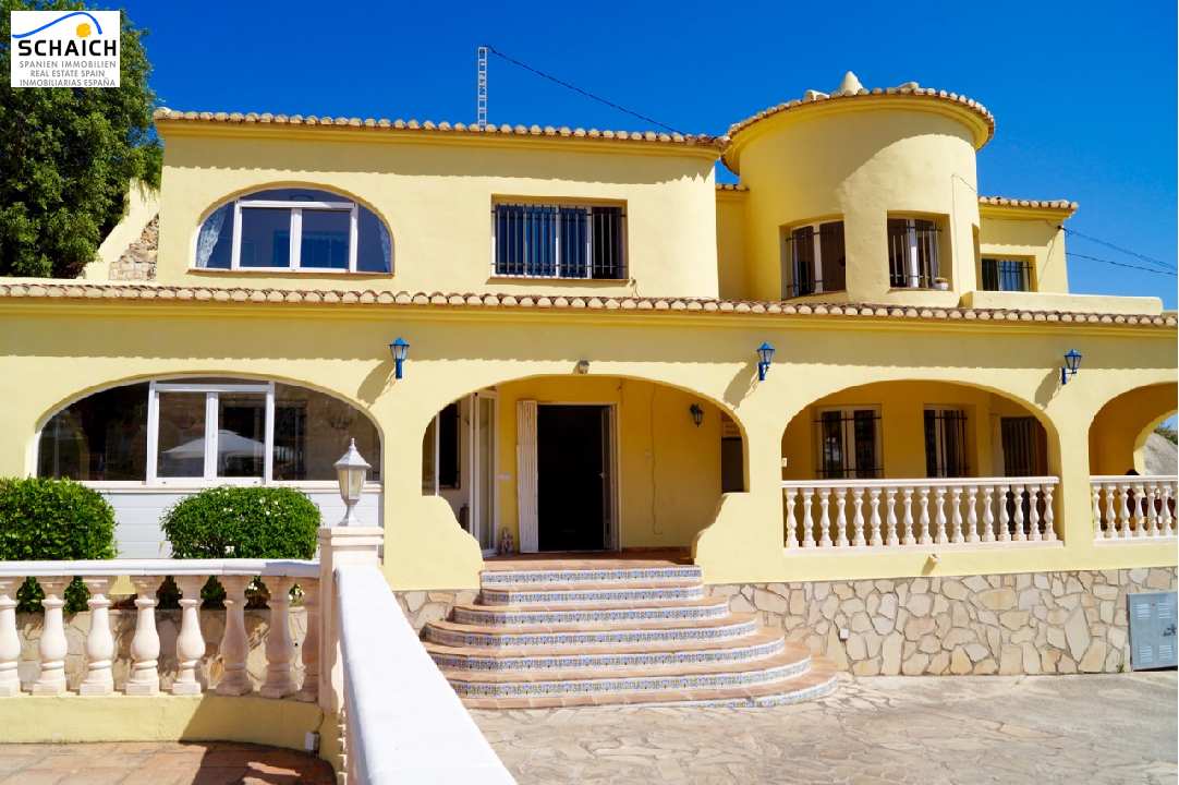 villa in Benissa(Montemar ) for sale, + central heating air-condition yes, 8 bedroom, 4 bathroom, swimming-pool yes, ref.: CA-H-839-AMB-9