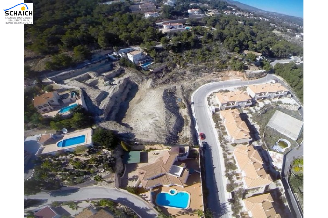 residential ground in Calpe(Cucarres) for sale, plot area 6015 m², ref.: BI-CA.G-076-3
