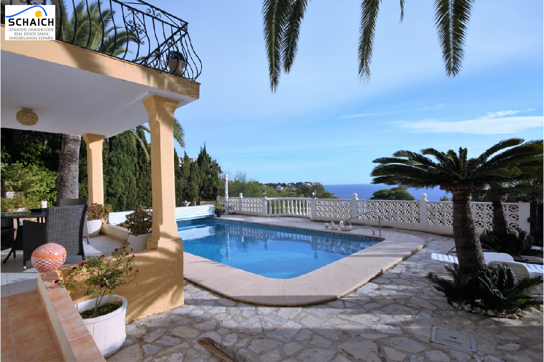 villa in Javea(Benidos) for sale, built area 490 m², year built 1998, condition neat, + central heating air-condition yes, plot area 950 m², 7 bedroom, 6 bathroom, swimming-pool yes, ref.: ER-5017-MJ-8