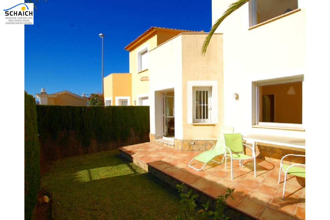 terraced house in Oliva(Oliva Nova Golf) for sale, built area 120 m², + KLIMA air-condition yes, plot area 100 m², 2 bedroom, 2 bathroom, swimming-pool yes, ref.: O-V45514-18