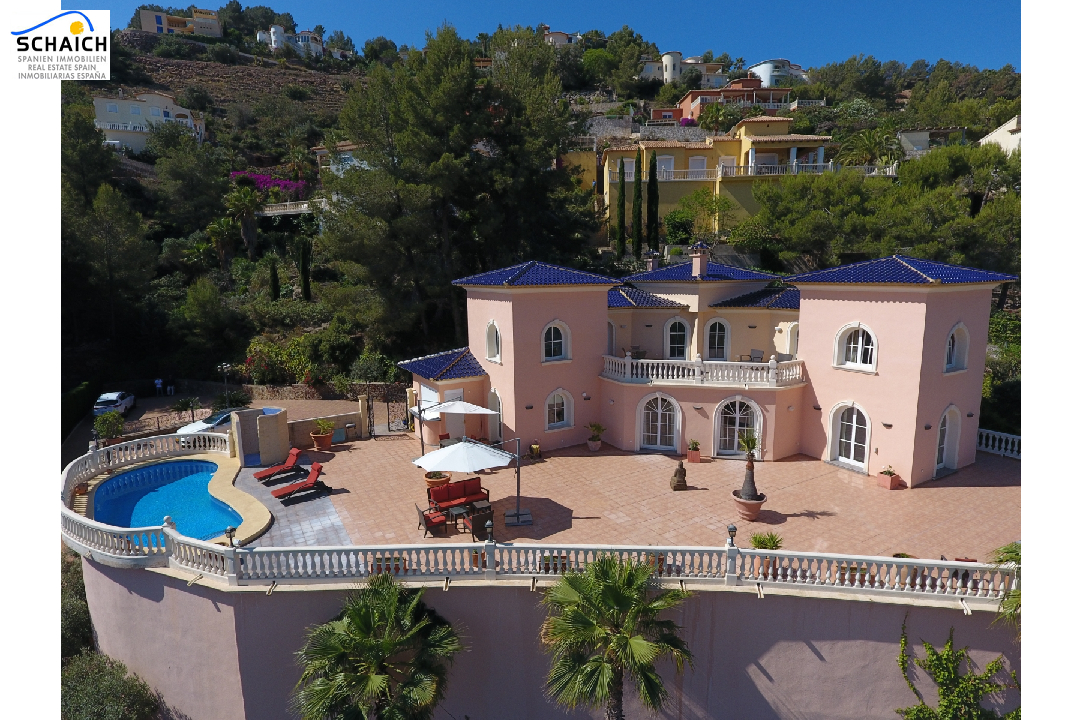 villa in La Sella for sale, built area 425 m², year built 2006, condition mint, + underfloor heating air-condition yes, plot area 1300 m², 5 bedroom, 4 bathroom, swimming-pool yes, ref.: MJ-0618-1