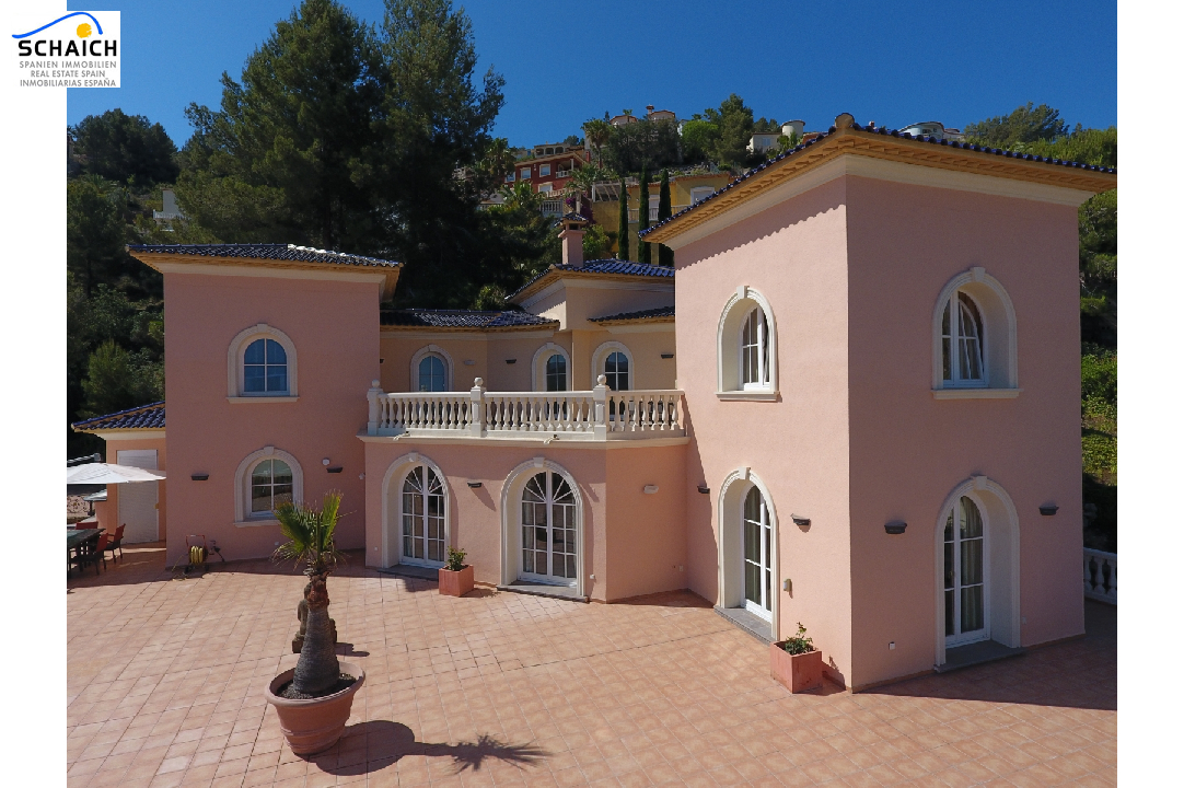 villa in La Sella for sale, built area 425 m², year built 2006, condition mint, + underfloor heating air-condition yes, plot area 1300 m², 5 bedroom, 4 bathroom, swimming-pool yes, ref.: MJ-0618-27