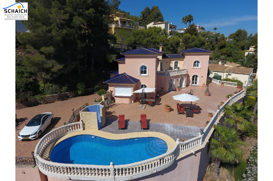 villa in La Sella for sale, built area 425 m², year built 2006, condition mint, + underfloor heating air-condition yes, plot area 1300 m², 5 bedroom, 4 bathroom, swimming-pool yes, ref.: MJ-0618-29