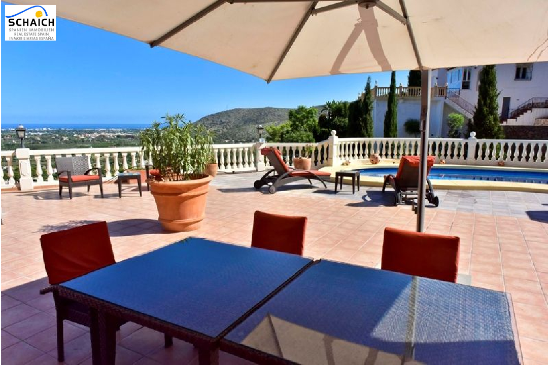 villa in La Sella for sale, built area 425 m², year built 2006, condition mint, + underfloor heating air-condition yes, plot area 1300 m², 5 bedroom, 4 bathroom, swimming-pool yes, ref.: MJ-0618-4