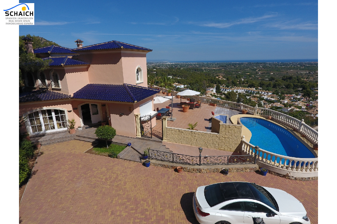 villa in La Sella for sale, built area 425 m², year built 2006, condition mint, + underfloor heating air-condition yes, plot area 1300 m², 5 bedroom, 4 bathroom, swimming-pool yes, ref.: MJ-0618-5