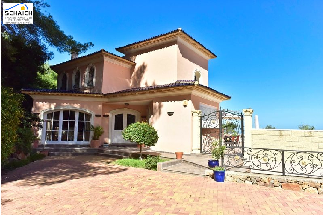 villa in La Sella for sale, built area 425 m², year built 2006, condition mint, + underfloor heating air-condition yes, plot area 1300 m², 5 bedroom, 4 bathroom, swimming-pool yes, ref.: MJ-0618-6