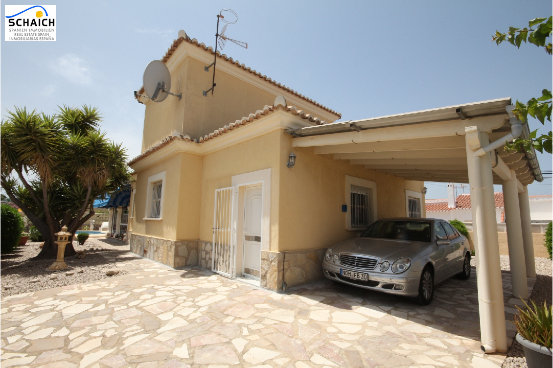 villa in Els Poblets(Sorts de la Mar ) for sale, built area 200 m², year built 2000, condition neat, + central heating air-condition yes, plot area 540 m², 3 bedroom, 2 bathroom, swimming-pool yes, ref.: AS-1518-17
