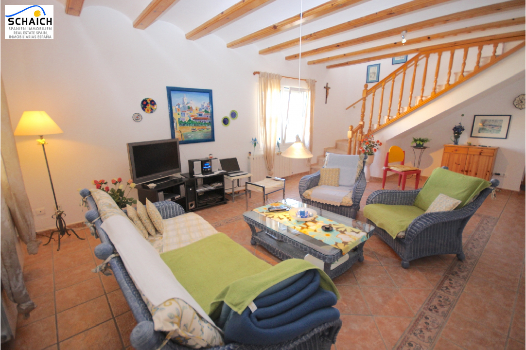 villa in Els Poblets(Sorts de la Mar ) for sale, built area 200 m², year built 2000, condition neat, + central heating air-condition yes, plot area 540 m², 3 bedroom, 2 bathroom, swimming-pool yes, ref.: AS-1518-6
