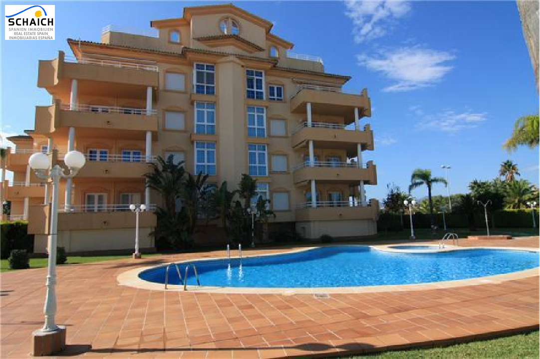 apartment in Oliva(Oliva Nova Golf) for sale, built area 64 m², year built 2003, air-condition yes, 1 bedroom, 1 bathroom, swimming-pool yes, ref.: U-4110-1